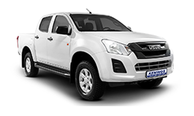 Toyota Hilux Double Cab 2X4 or similar