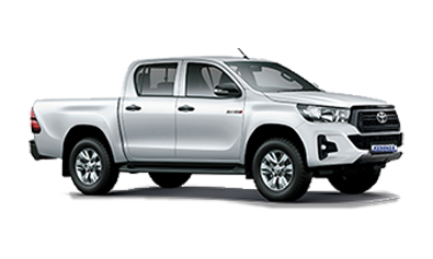 Toyota Hilux Double Cab 4X4 or similar